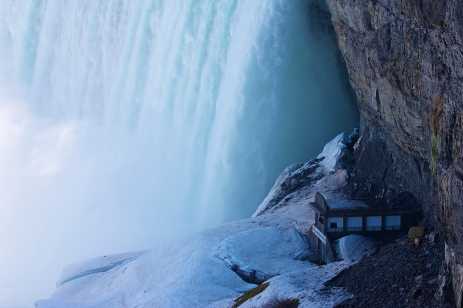 A Nice View for the Waterfall