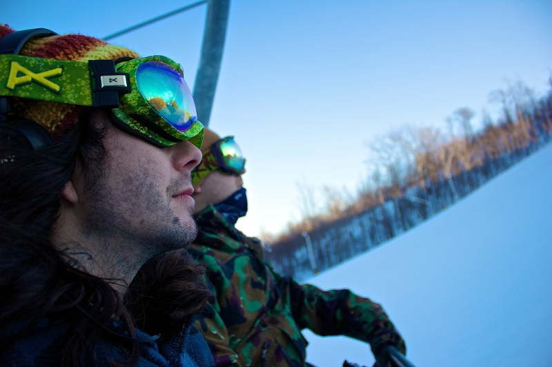 Snowboarding at Blue Mountain 5