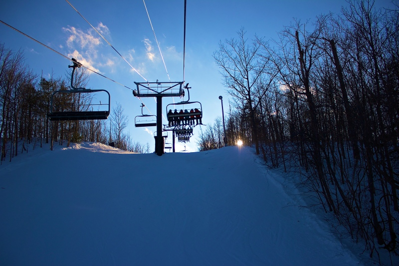 Snowboarding at Blue Mountain 6