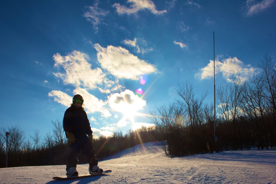 Snowboarding at Blue Mountain 7