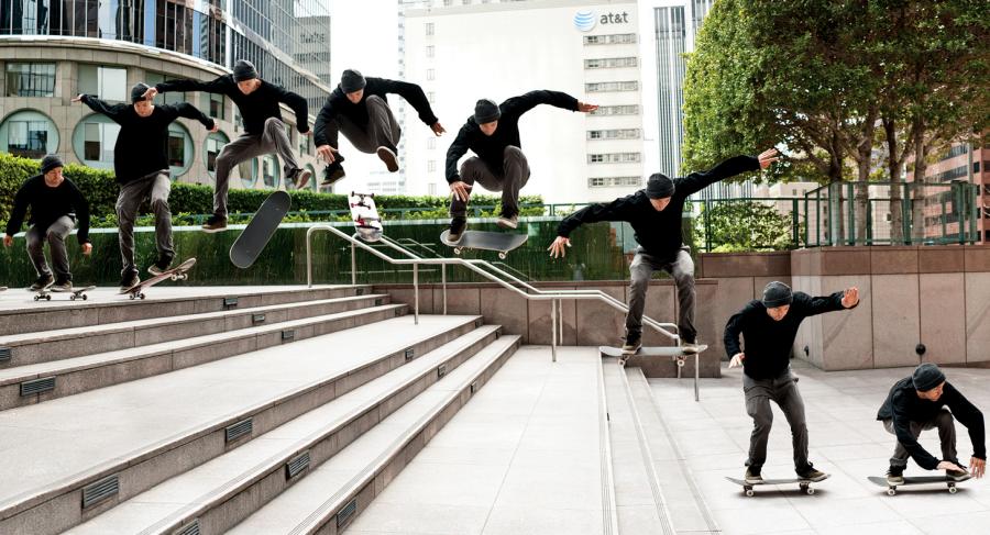 Andrew Reynolds Street Skating