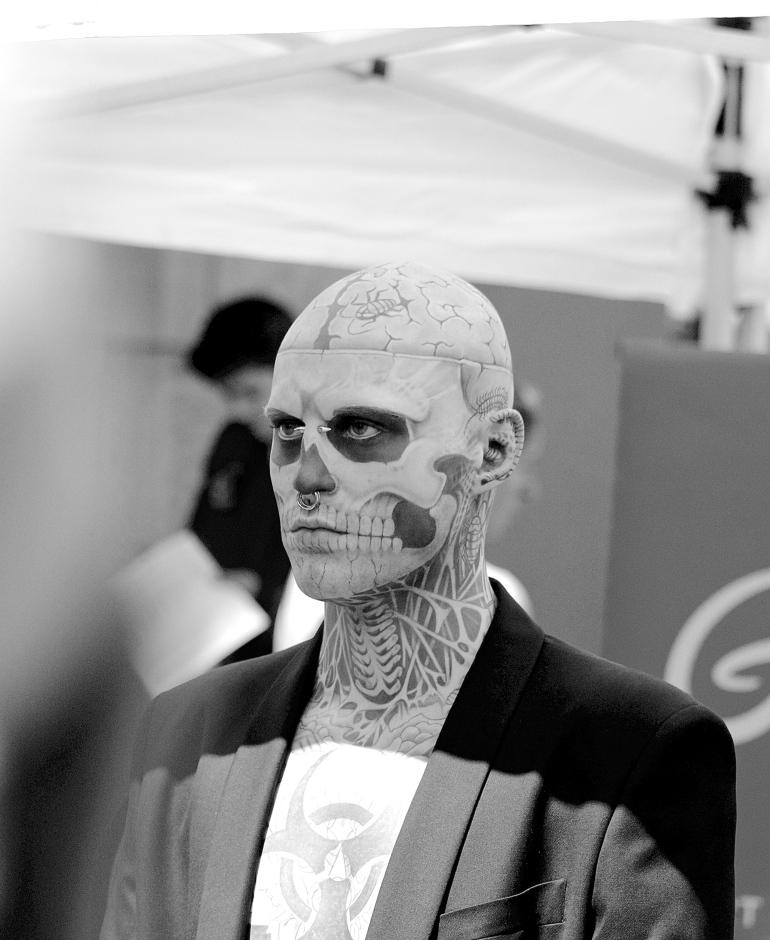 Zombie Boy Photograph