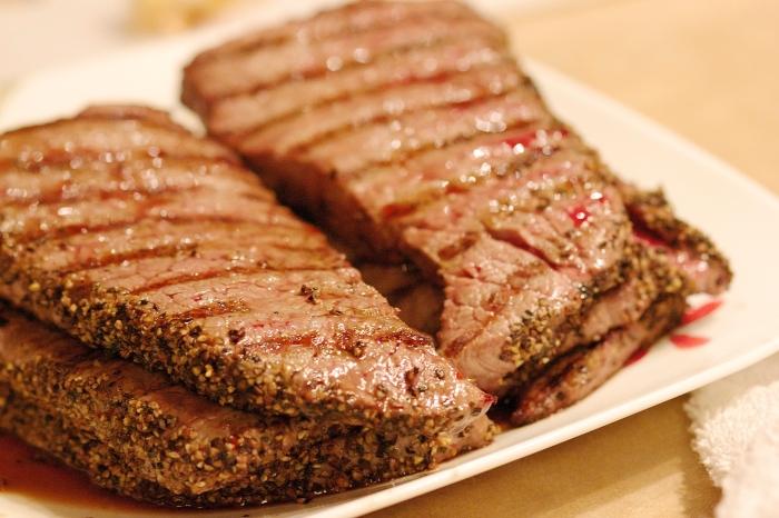 Steaks.