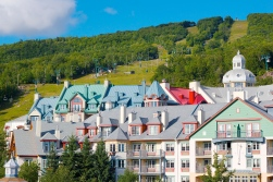 Tremblant's village.