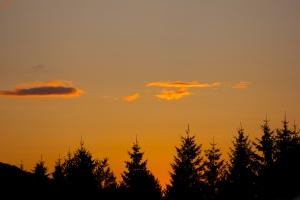 Sunset at Tremblant.