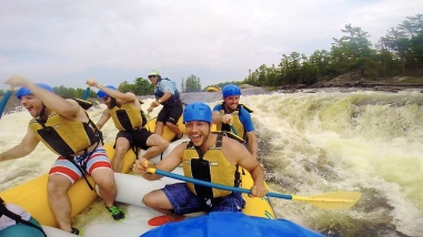 White Water Rafting, naturally.
