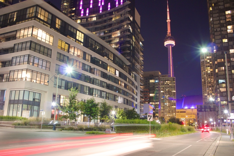 Toronto at Night Photo