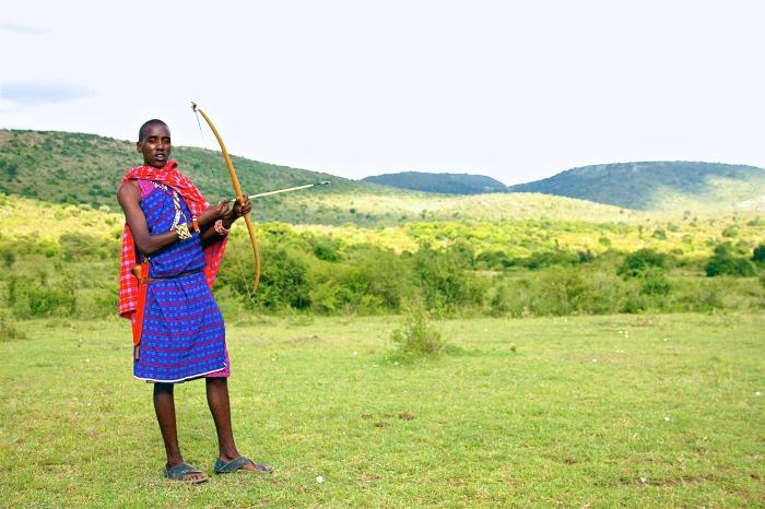 Shot in Kenya.