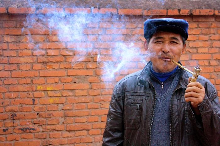 Shot in China.
