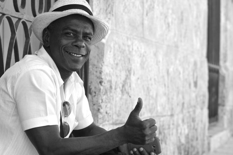Shot in Cuba.