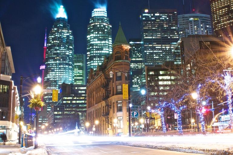 Toronto's Gooderham Building. (Photo by Ryan Bolton)
