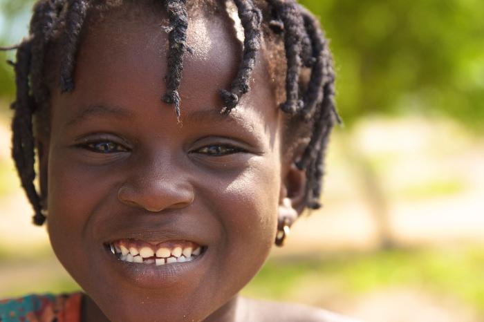 Shot in rural Ghana.