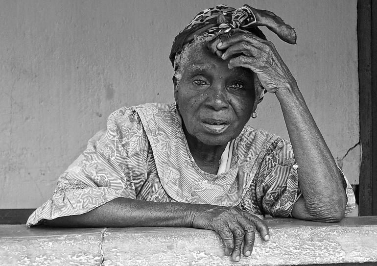 Shot in Ghana.