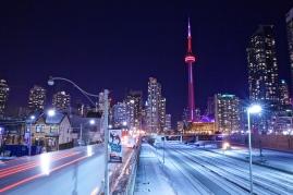 Toronto at night   Photo by Ryan Bolton