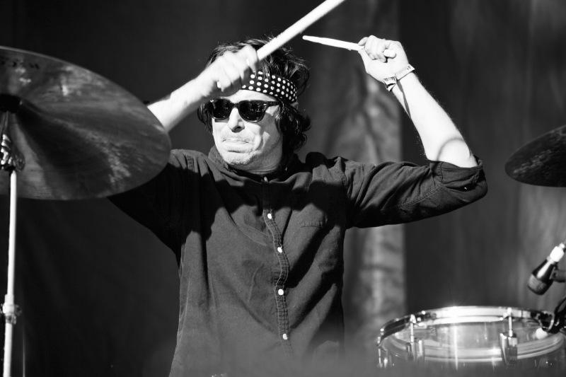 Drummer of War on Drugs