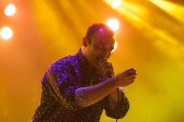The electricity of Future Islands was a perfect close to the day.
