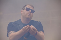 El-P of Run the Jewels offering up.
