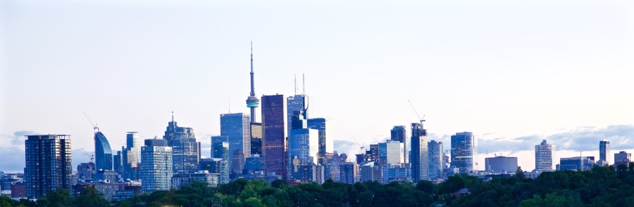 Toronto from Riverdale Park. Photo by Ryan Bolton.