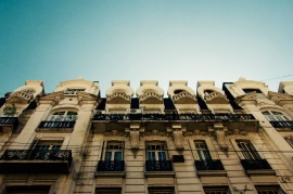 That gorgeous Spanish architecture in Buenos Aires.