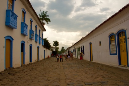 The peaceful calm of Paraty, Brazil.