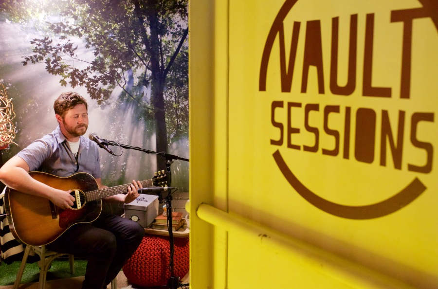 Dan Mangan for JUNO TV. Photo copyright by Ryan Bolton.