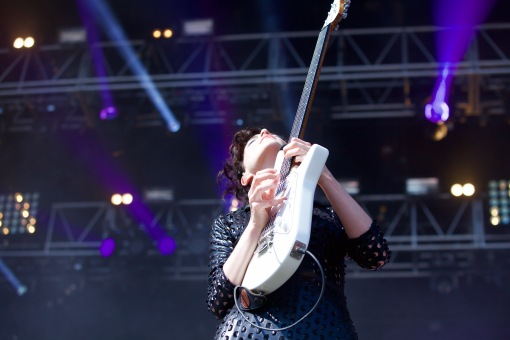 St. Vincent slaying the axe.