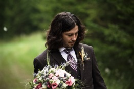 Chris on his wedding day.