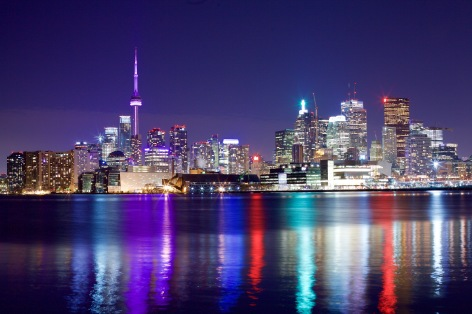 Toronto's magnificient skyline. Photo by Ryan Bolton.