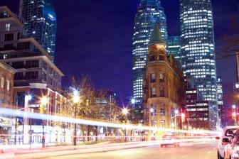 Toronto's flatiron, the Gooderham Building. Photo by Ryan Bolton.