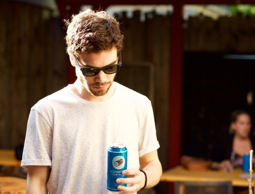 Watch modelling for Woodhouse Beer.