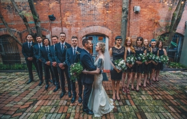 Berkeley Church Toronto Wedding Group Shot