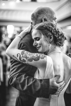 The tender moments with daughter + Dad dance