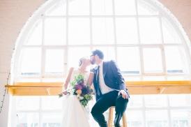 Wedding Inside Twist Gallery on Queen St. Toronto