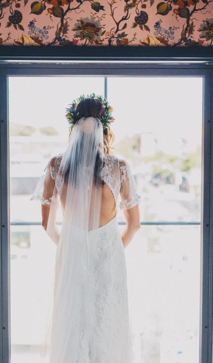 Broadview Hotel Toronto Wedding Bride