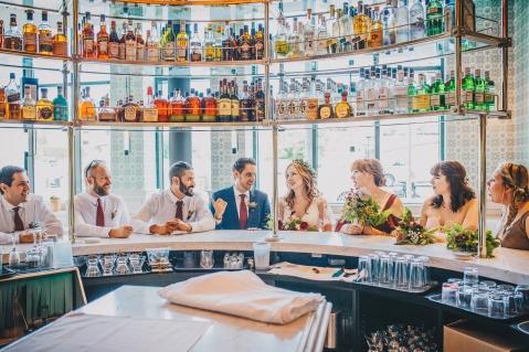 Broadview Hotel Toronto Wedding Party Photo