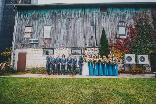 Barn Wedding Bridal Group Party at Elmhurst Inn