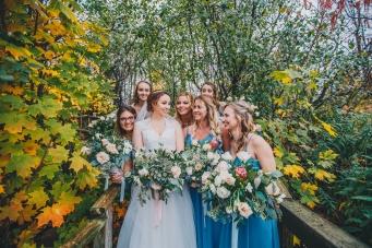 Fall Wedding outside of London, Ontario