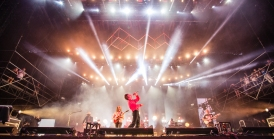 Cage the Elephant Rocking at WayHome Festival