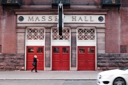 The legendary Massey Hall.