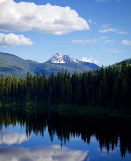 Beautiful British Columbia Mountain and Lake