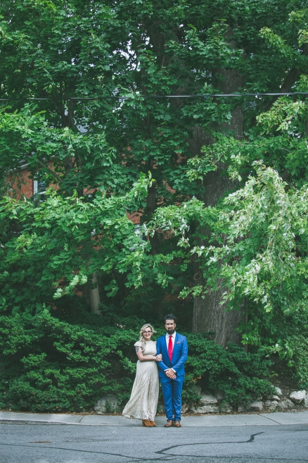 Erin + Adam, the first wedding I photographed.