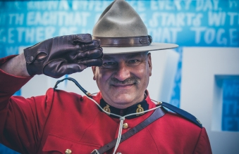 A Canadian Mountie is always a good idea.