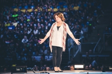 Margaret Trudeau. Mother of Justin.