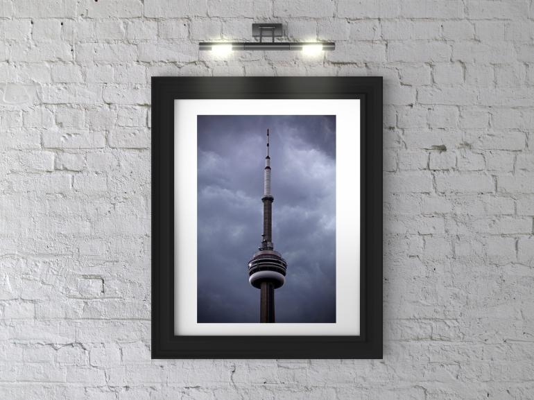 Toronto CN Tower Framed Photograph