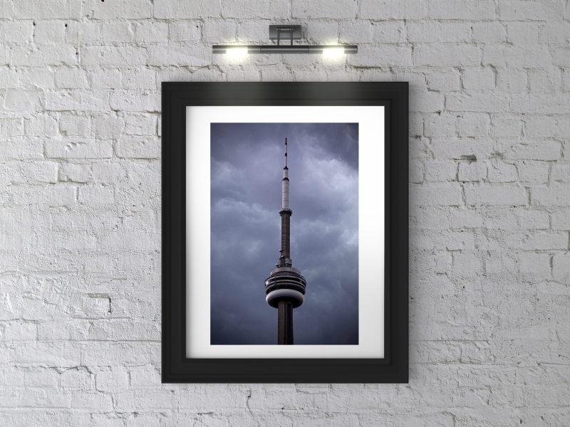 Toronto CN Tower Framed Photograph