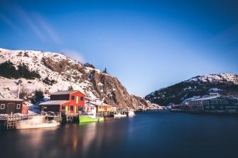 Quidi Vidi lake in Newfoundland
