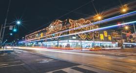 Honest Eds Toronto Long Expsure Photo