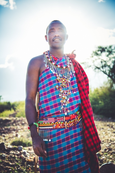 Massai Warrior Wilson in Kenya