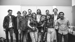 Arkells + July Talk with fans, backstage at the JUNO Awards