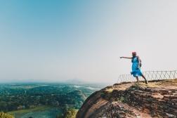 Exploring Lion Rock (Sigiriya) in Sri Lanka